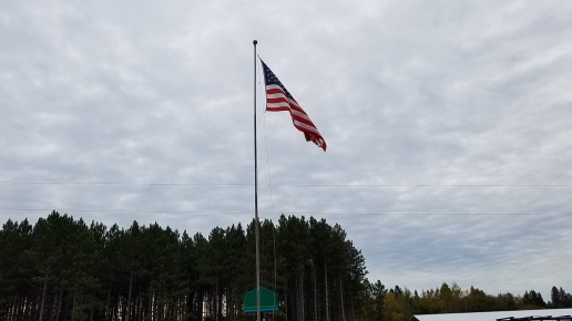 flag over UP